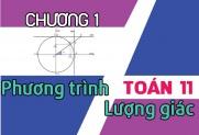 Ôn tập toán 11 - Phương trình lượng giác và bài tập áp dụng